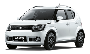 ignis car rental services in goa